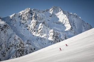 Na lodowcach Doliny Ötztal (mat. prasowe Tirol Werbung, fot. Rudi Wyhlidal)