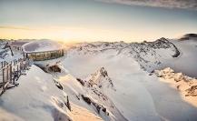 Pitztaler Gletscher - Cafe 3.440, najwyżej położona restauracja w Austrii (mat. prasowe Tirol Werbung)