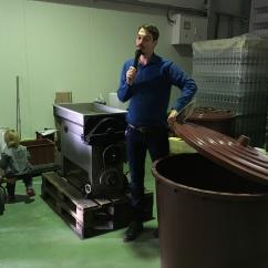 Młynkoszypułkowcica i pojemnik na winogrona, fot. Paweł Wroński