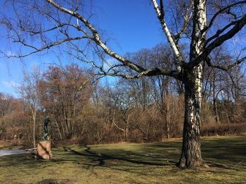 """""""Rytm"""", jedna z rzeźb w Parku im. Paderewskiego, fot. Paweł Wroński"""